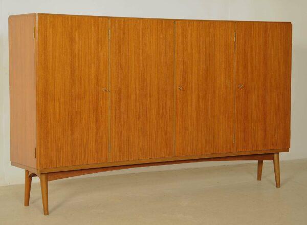 Hohes Art Deco Sideboard / Highboard