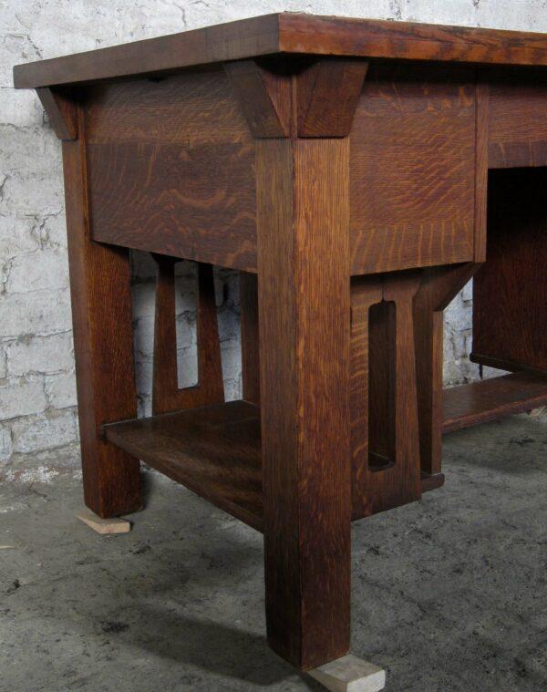 Einzigartiger Jugendstil Schreibtisch