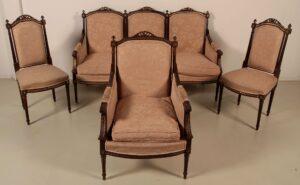 Salon Sitzgruppe im Empire Stil
