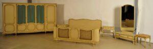 Sechteiliges Chippendale Schlafzimmer