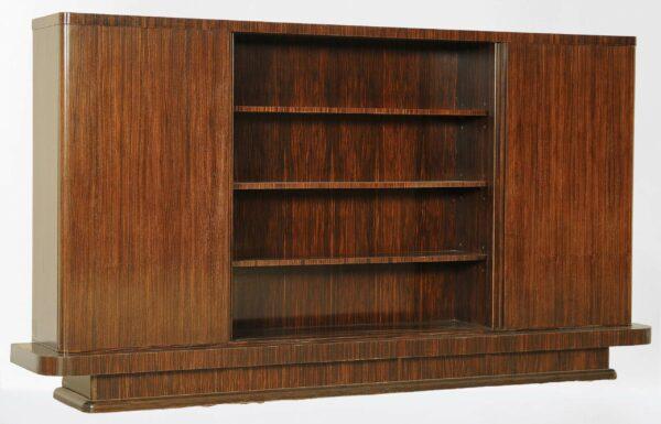 Bauhaus Bücherschrank aus Palisanderholz