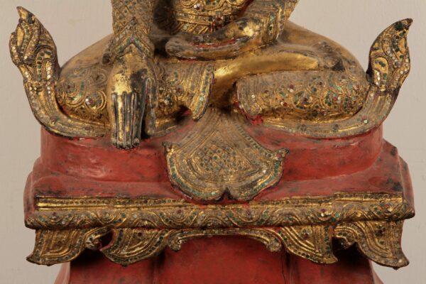 Burmesische Buddafigur