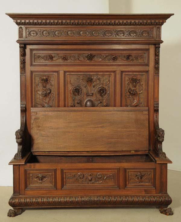 Prunkvolle Historismus Sitzbank
