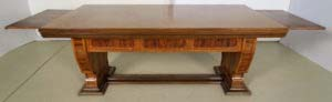 Wunderschöner Schreibtisch mit Auszugsplatten und Intarsien