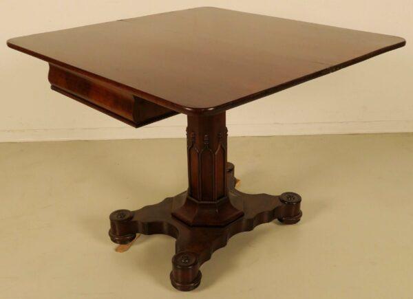 Biedermeier Konsol- Spieltisch
