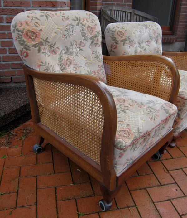 Chippendale Sessel aus den 60er Jahren