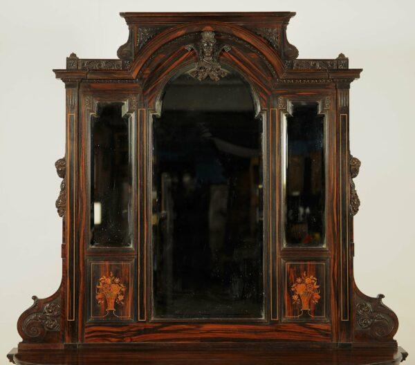 Seltene Spiegelkonsole aus dem Historismus